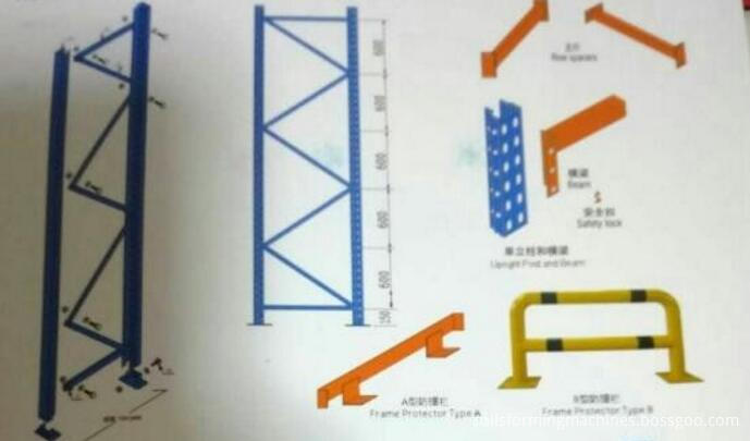 storage rack machine upright rack roll forming machine