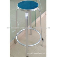 Two-tier Round MDF Top Bar Stools Cheap