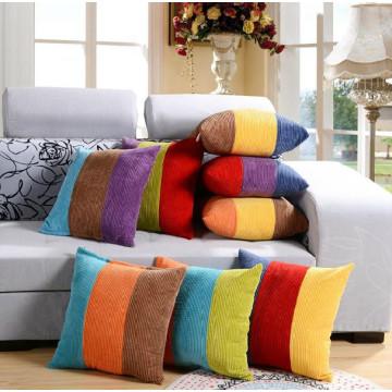 corduroy material square chair/sofa/seat cushion