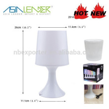 Table Lamp 4RGB LED Battery Operated Mood Light