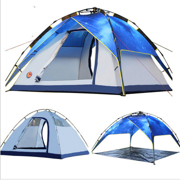 Wholesale 4 Man Tent, Polyester Family Camping Tent