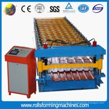 Máquina de fabricación de chapa para techos de zinc