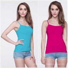 Summer Fashion Women in Multiple Colors Singlet Tops (MU6634)