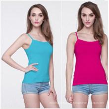 Mulheres da forma do verão em várias cores singlet tops (mu3634)