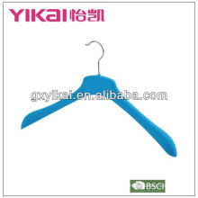 coat flocking hanger with wide shoulder