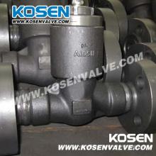 Кованые стальные фланцевые Напорное уплотнение запорные клапаны (H44)