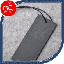 Etiqueta de papel para impressão de logotipo da moda / etiqueta de swing para ternos / camisetas / jeans masculinos