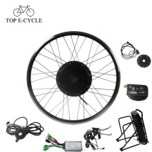 Kit de conversión de bicicleta de motor de cubo de rueda kit kit de bicicleta eléctrica 48V 500W barato