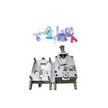 Molde de injeção de seringa de plástico para equipamentos médicos de precisão