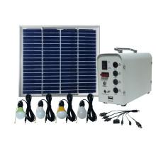 Painel solar poli 20W para bulbos pequenos do sistema home 5W