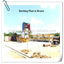 Planta mezcladora de hormigón húmedo baja fija, Planta mezcladora de hormigón estacionaria