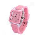 Wristwatch Japan Movt Quartz Silicon Band Watch