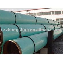 3PE tubo de acero / caliente en stock / ASTM API GR.B Q345