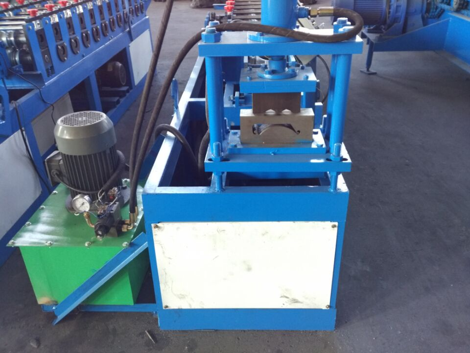 building material rolling shutter metal door frame roll forming machine