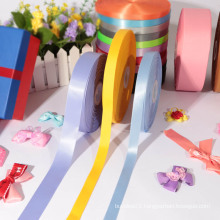 Factory direct sale personalized satin ribbon/polyester satin ribbon
