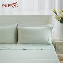 Nube suave colorido tencel lyocell ropa de cama, plisado diseño funda nórdica