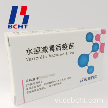 Vắcxin Varicella cho Chicken Pox Lyophilized Attenuated