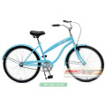 Klassischer Stahlrahmen 26 '' Lady's Beach Cruiser Beach Bike