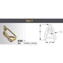 Crochets en acier durables résistants de cygne à cliquet 10000kg / 5000kg / 3000kg
