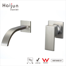 Haijun Productos seleccionados cUpc cuarto de baño montado en la pared grifo de agua de latón