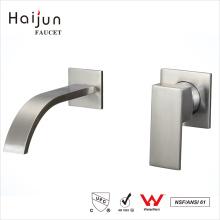 Хайцзюнь выбранных продуктов купч ванной комнаты установленный стеной латунный faucet воды