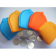 Factory Hot Selling Fashionable Silicone Coin Bag