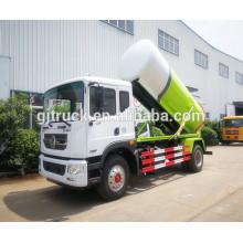 Camión del succión del lodo del camión de la succión del lodo de 10cbm Donfeng, camión de la succión del fango de Dongfeng, camión del transporte de las aguas residuales RHD / LHD