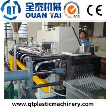 Co-Rotating Doppelschnecken Extruder / Pet Fiber Recycling Pelletiermaschine
