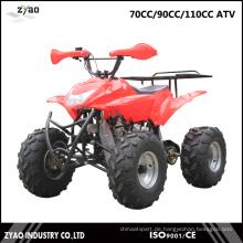 70ccm / 90ccm / 110cc Kinder Mini Quad ATV 4 Rad Benzin Fahrrad ATV Fabrik China