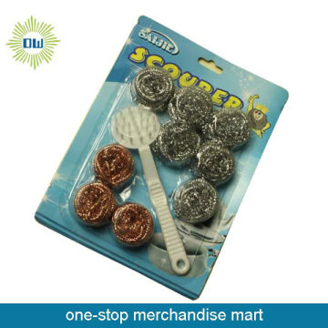 good quality 9 pc stainless steel clean balls