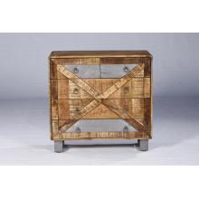 Quarto Mobiliário de sala de estar Cofragem de madeira de 4 gavetas