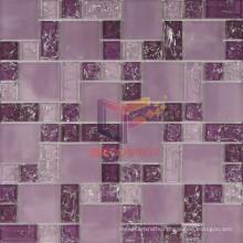Purple Crystal Ice-Cracked Mosaic (CCG202)