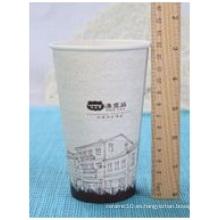 Desechable 500 Ml 16 Oz taza de papel de bebida fría,