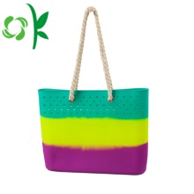 Best-selling Durale Silicone Beach Bag with Rope Handles