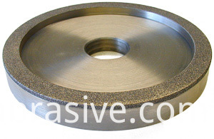 ELECTROPLATED DIAMOND 6A2 CUP WHEEL