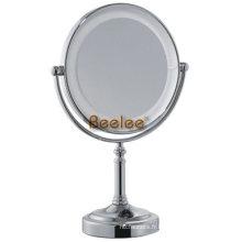 Miroir cosmétique debout de double côté LED (M-9108)