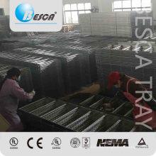 Escalera de cable costa afuera de la barra de hierro del metal para anticorrosión