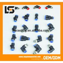 Connecteur en plastique de garnitures de plomberie de PVC de qualité supérieure