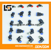 tube fittings plastic plumbing connections 2 inch pvc pipe fittings from China