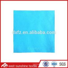 Tissu de nettoyage en microfibres de haute qualité avec logo impressionnant; Tissu de nettoyage en microfibres estampé à chaud personnalisé