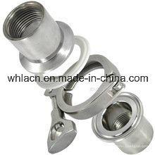 Adaptador de tubería de fundición de acero inoxidable (fundición a la cera perdida)