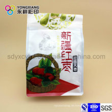 Getrocknete Frucht Plastikverpackung Beutel des Nahrungsmittelgrades