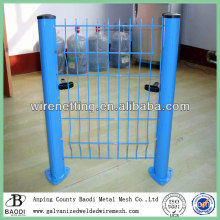 plastic decorative garden wire fence panels (China Manufacture)