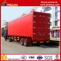Bulk Light Cargo Transport Van Semi Vorhang Seitenanhänger
