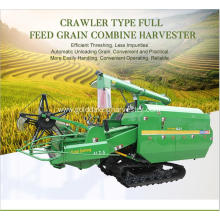 Customized for Crawler Type Rice Combine Harvester 330mm Min.ground clearance rice combine harvester export to Indonesia Factories