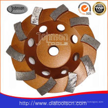 105mm Cup Wheel with Swirl Type