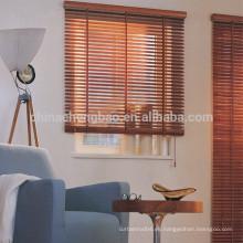 Persiana veneciana de madera natural de 50 mm