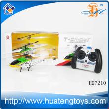 Hot sale 3 canaux alliage double cheval super 3d rc hélicoptère pour enfants H97210
