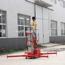 single electric aluminium lift