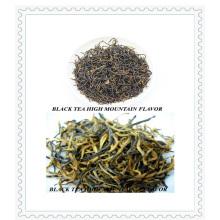 Plato certificado de la UE para la presentación orgánica de té negro (N º 1)